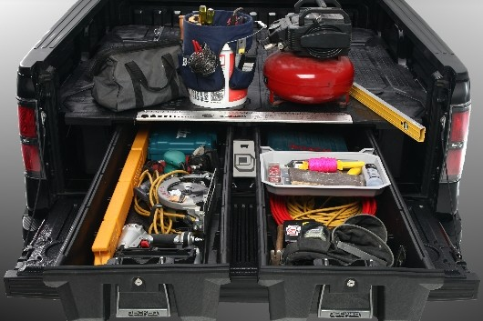 Truck Bed Side Tool Box >> DECKED Truck Bed Storage | East Neck Auto Service